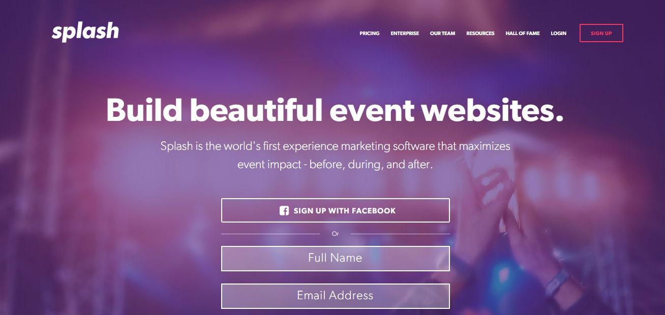 Sitios de registro de eventos, invitaciones, boletos