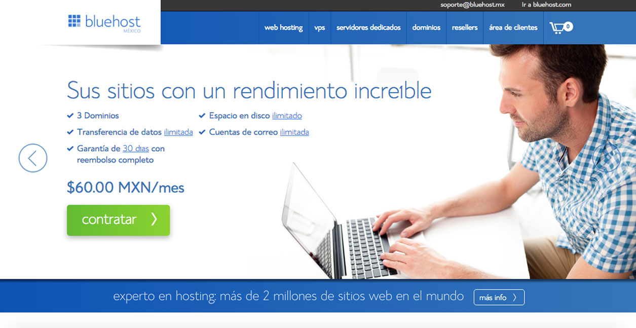 Web Hosting (Alojamiento para sitios Web)